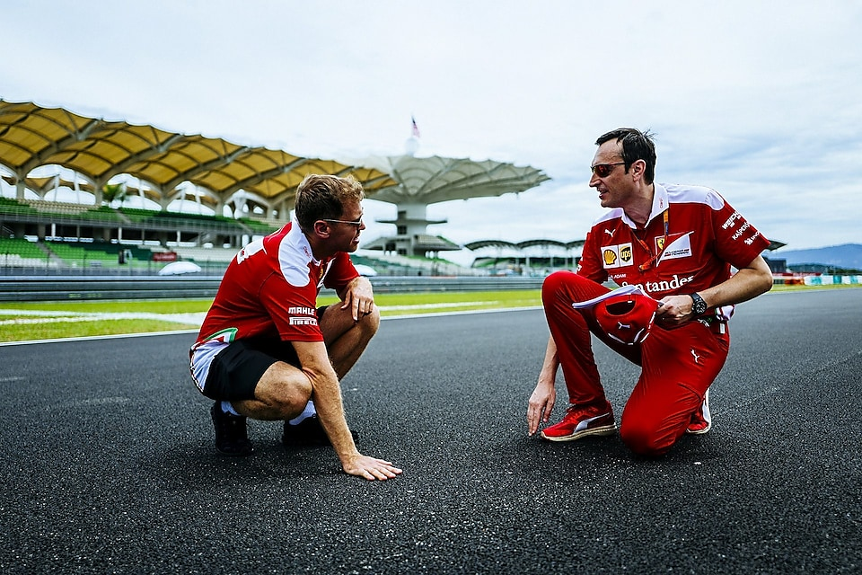 Sebastian Vettel praises the new track of the sepang international circuit